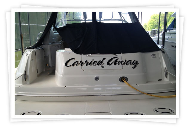Boat Lettering Services